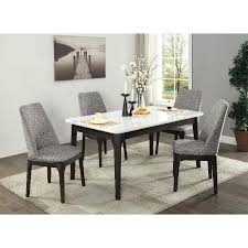 5 piece dining sets white marble and charcoal 5 piece dining set mainstays 5 piece glass