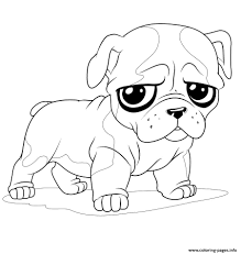 This puppy coloring page features an adorable pup decked out with sunglasses, chilling out on the beach, enjoying the palm trees and crashing waves. Cute Puppies Coloring Pages Printable