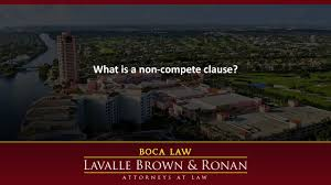 what is a non compete clause what is a non compete clause