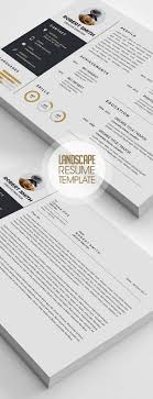 Fresh Simple Clean Resume Templates And Cover Letter Design
