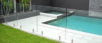 glass swimming pool fence cost swimming pool rails
