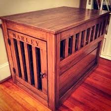 How to make a dog crate Furniture Prettiest Dog Crate Ever Seen Of Course Its Wood Plan Project Pet End Table Stained Furniture Laptops To Lullabies Dog Crate Cover Diy Life Of The Rodimels Wooden Dog Crate End Table And Wood Diy Bed Kindery