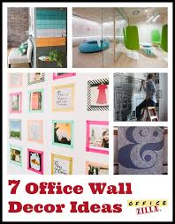 office wall decorating ideas. 7 Fun Office Wall Decor Ideas Http://blog.officezilla.com/ Decorating