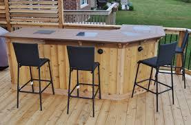 patio furniture for small patios. Otter Creek Construction Cedar Deck \u0026 Bar 5 Patio Furniture For Small Patios