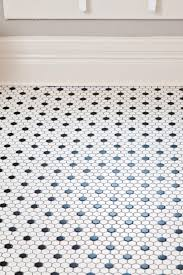 Bathroom And Kitchen Flooring A Deserving Akron Familys Rehab Addict Makeover Hexagons Black