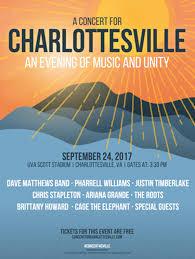 Free Megastar Concert For Charlottesville Announced At Scott