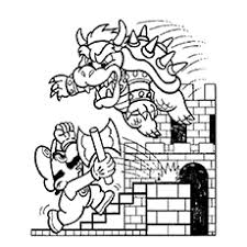 This article brings you a number of super mario coloring sheets listed below are 20 super mario coloring pages to print that will keep your kids engaged. Top 20 Free Printable Super Mario Coloring Pages Online