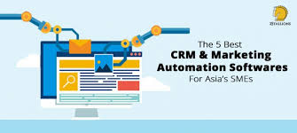 Marketing Automation Comparison Chart The 5 Best Crm Marketing Automation Software For Asias