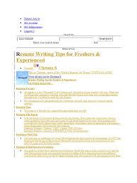 Tcs Resume Resume Mail