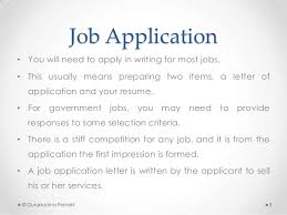 job application what is a resume for a job application