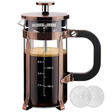 Veken French Press <b>Coffee</b> Maker (12oz), <b>304 Stainless Steel</b>