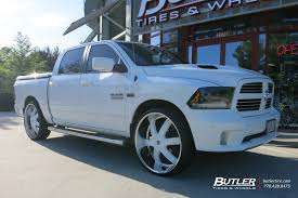 2014 ram 1500 tire size dodge ram with 28in 2crave no4 wheels exclusively from butler tires