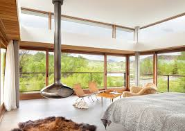 beautiful bedrooms with a view. glass windows beautiful bedrooms with a view