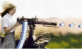 facebook like button machine gun. Simple Button Social Media Facebook Like Button News Feed  Rambo Inside Like Button Machine Gun T