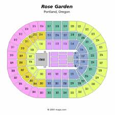 Oracle Arena Seating Chart Concert 35 Specific Garden Seat Chart
