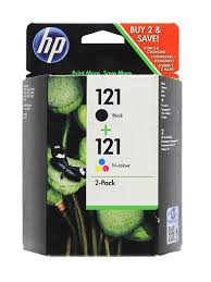 Набор струйных <b>картриджей</b> 121 Black/Tri-Colour (<b>CN637HE</b>) <b>HP</b> ...