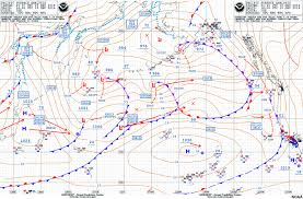 Surface Analysis Chart Symbols Surface Frontal Analysis