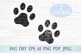 Suitable for apparel, scrapbooks, and many more. Paw Graphic By Magicartlab Creative Fabrica In 2020 Dog Paw Print Svg Paw