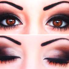 make up for ever brown eyes dramatic eye makeup look bing images eyeshadow