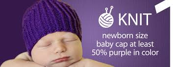 Spreading Awareness Of Infant Abuse With Purple Caps