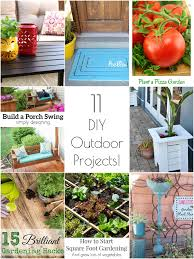 Diy Outdoor Projects So Creative 14 Diy Outdoor Weekend Projects