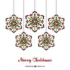 hanging christmas ornaments vector.  Vector Christmas Card With Hanging Ornaments Free Vector In Hanging Ornaments