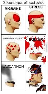 Wh40k Headache Chart Warhammer 40k Memes Warhammer 40k