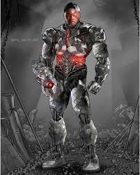 Dawn of justice and justice league, and will reprise the role for a final time in the zack snyder's justice league. Mo Selim Art Here Is My Completed Ray Fisher Cyborg This Was