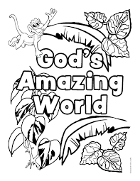 Free Printable Coloring Pages Rainforest Animals L