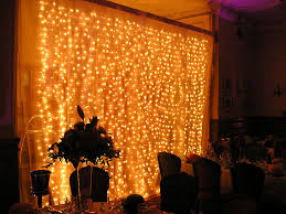 lighting curtains. fairy lighting and mood balloon party kingdom curtains