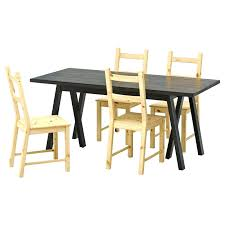 round glass dining table and 4 chairs fusion ikea di