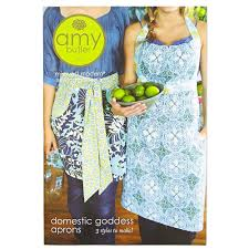 Amy Butler Patterns Interesting Amy Butler Domestic Goddess Apron Pattern Discount Designer Fabric