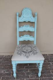 vintage upholstered chair. Perfect Chair This Ornate Vintage Chair Is Beautiful Itu0027s A Wooden That Has Been  Painted Light Blue And The Seat Cover French Linen Fabric For Vintage Upholstered Chair