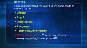 rome and the roots of western civilization ppt   western civilization 2 technology engineering