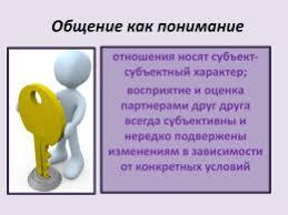 КОНТРОЛЬНАЯ РАБОТА Деловое общение на тему Психология общения  Общение как понимание