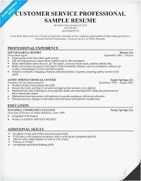 25 Resume For Customer Service Representative For Call Center