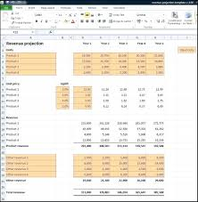 Revenue Model Template Template Business Model Template Excel Plan Financial Projections