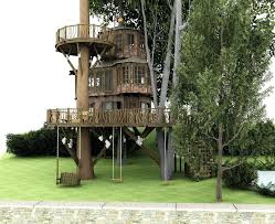 bridge designs tree house building plans simple treehouse free