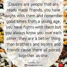 Top 40 Cousin Quotes Sayings SayingImages Interesting Long Distance Friendship Quotes And Sayings In Hindi