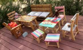 garden furniture made with pallets. Kids Furniture Madewith Pallets Garden Made With