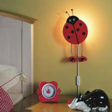 childrens room lighting. Kids Room, Contemporary Lighting Wall Lights Rooms Lady Bug Light For Children Bedroom Childrens Room N
