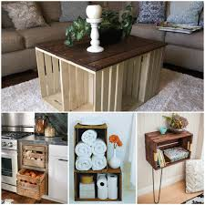 wooden crates furniture. Wood Crate Project Ideas Wooden Home Design 2 Crates Furniture