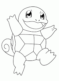 Pokemon Pikachu Coloring Page Pokemon Squirtle