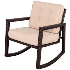 outdoor wicker rocking chairs with cushions. portable wicker rocking chair with cushion outdoor chairs cushions