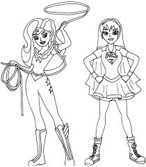 Small Picture Wonder Girl Coloring Pages Coloring Pages