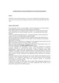 example of mba essays madrat co example of mba essays