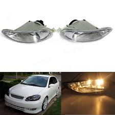 Car Bumper Fog Lights Front Lamps Left Right For Toyota Corolla 05 ...