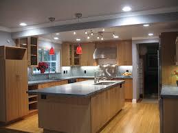 kitchen bamboo cabinets