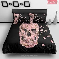 Skull Bedroom Skull Bed Sets Queen Furniture