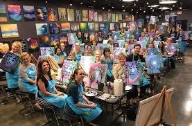 pinot s palette near plano join is for paint and sip pinot s palette